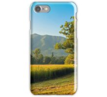 EARLY MORNING,CADES COVE iPhone Case/Skin