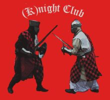 Medieval (K)night Club T-shirt design. by patjila