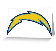 San Diego Chargers Logo Greeting Card