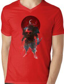 Nitenichi Bishamon Mens V-Neck T-Shirt