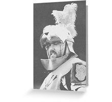 Knightly Greeting Card