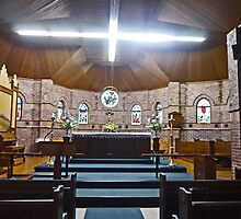 Holy Trinity Anglican Church, Goondiwindi, Qld, Australia by Margaret  Hyde