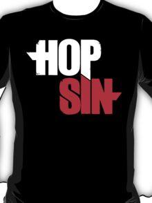 HOPSIN (LOGO) (WHITE & RED) T-Shirt