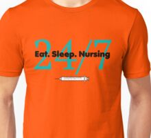 Eat Sleep Nursing Unisex T-Shirt