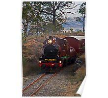 Restored Steam Trail C17 #971 Poster