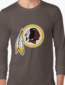 Washington Redskins Logo Long Sleeve T-Shirt