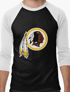 Washington Redskins Logo Men's Baseball ¾ T-Shirt