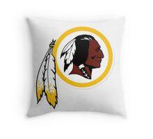 Washington Redskins Logo Throw Pillow
