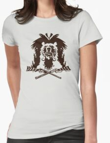 The Mad Trapper  Womens Fitted T-Shirt