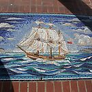 Tile sails across a tile sea by nealbarnett