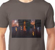 IS THAT A VILLAGER ON FIRE? Unisex T-Shirt