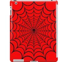 Spider Web Black iPad Case/Skin