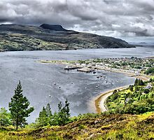 Ullapool from the Braes by John Ellis