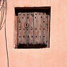 Wooden lock - Malaga by evilcat