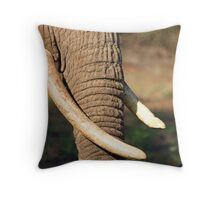 Tusks Throw Pillow