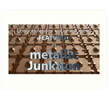 Metallic Junktion - Featured banner Art Print