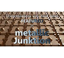 Metallic Junktion - Featured banner Photographic Print