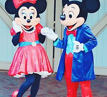 Mr. & Mrs. Mickey Mouse by disneylandpost