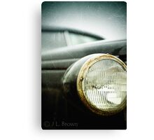 """OLD SCHOOL""  a vintage vehicle from the past. Canvas Print"