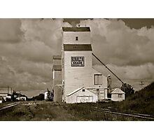 Prairie Icon - Stettler, Alberta Photographic Print