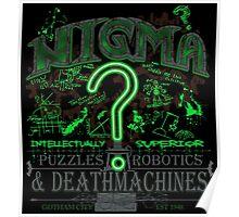 Nigma Deathtraps Poster