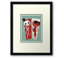 Dance Partners Framed Print