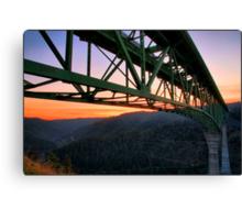 California's Tallest Bridge Canvas Print