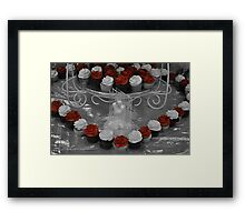 Love cupcakes Framed Print