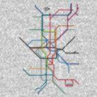 London Underground by KRASH (Ashlee Fensand)