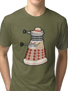 Daleks in Disguise - Fifth Doctor Tri-blend T-Shirt