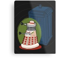 Daleks in Disguise - Fifth Doctor Metal Print