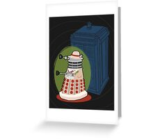 Daleks in Disguise - Fifth Doctor Greeting Card