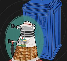 Daleks in Disguise - Seventh Doctor by murphypop