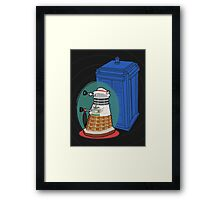Daleks in Disguise - Seventh Doctor Framed Print
