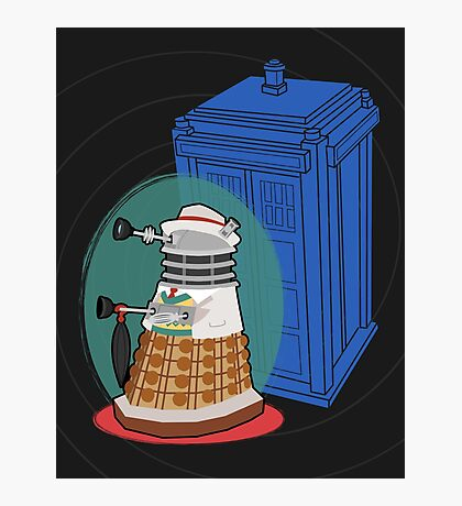 Daleks in Disguise - Seventh Doctor Photographic Print