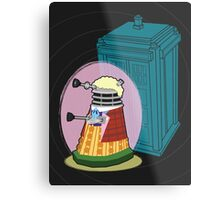 Daleks in Disguise - Sixth Doctor Metal Print