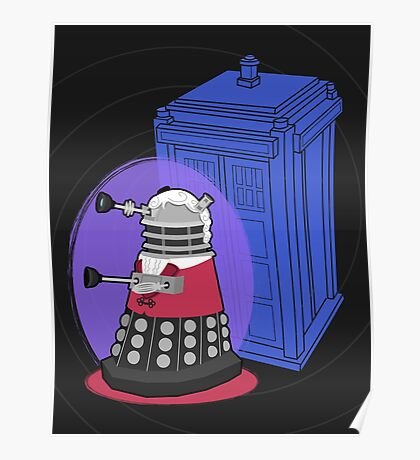 Daleks in Disguise - Third Doctor Poster