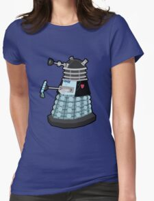 Daleks in Disguise - Second Doctor Womens Fitted T-Shirt