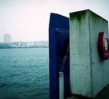 Kiel harbor by lucie richter