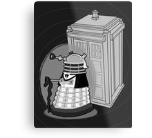 Daleks in Disguise - First Doctor Metal Print