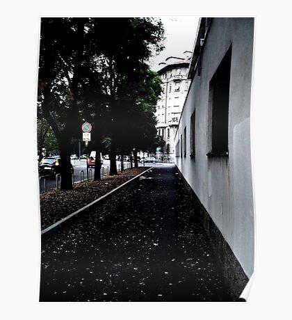 Sidewalk Poster