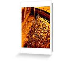 molten Greeting Card