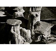 Hoodoo Caps - Drumheller, Alberta Photographic Print