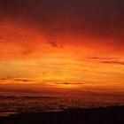 Orange Beach Sunset 5 by bugboobunz