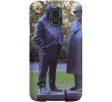 Stopped for a chat - 1 Treasury Place Melbourne Vic Australia Samsung Galaxy Case/Skin