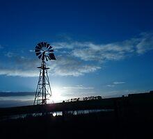 windmill  by Davegazzard
