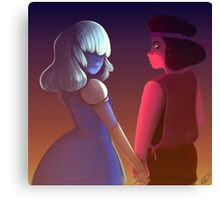 Garnet's Fury and Patience Canvas Print