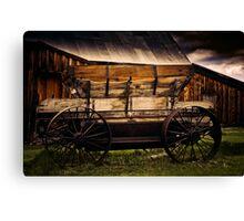 The Wagon Canvas Print