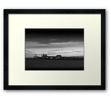 Chesapeake Bay Bridge - BW Framed Print