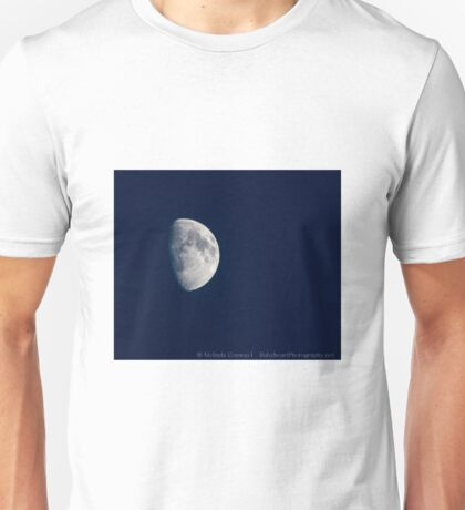 Half Moon in blue Unisex T-Shirt